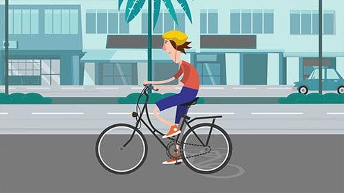 סרטון לקמפיין של הרשות לבטיחות בדרכים בחסות עיריית תל אביב