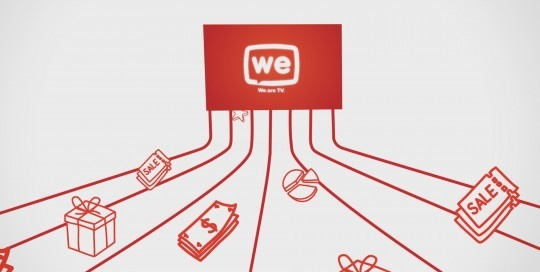 סרטון תדמית המציג את פלטפורמת הטלוויזיה האינטקראקטיבית We Are T
